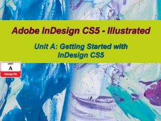 Adobe  InDesign  CS5 - Illustrated