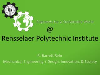 @ Rensselaer Polytechnic Institute