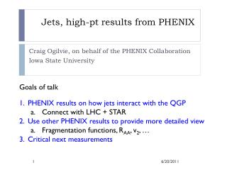 Jets, high-pt results from PHENIX