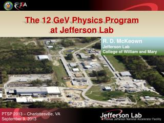 The 12  GeV  Physics Program a t Jefferson Lab