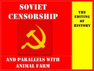 Soviet CensoRSHIP