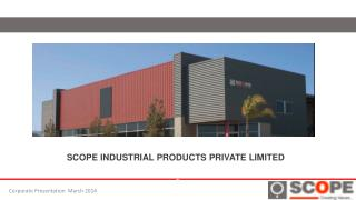 SCOPE INDUSTRIAL PRODUCTS PRIVATE LIMITED