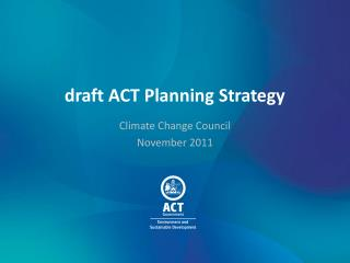 draft ACT Planning Strategy