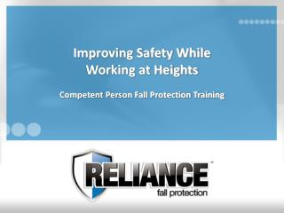 Improving Safety While Working at Heights
