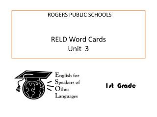 RELD Word Cards Unit  3