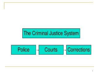 Components of Criminal Justice