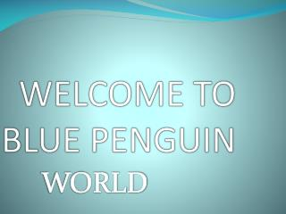 WELCOME TO BLUE PENGUIN