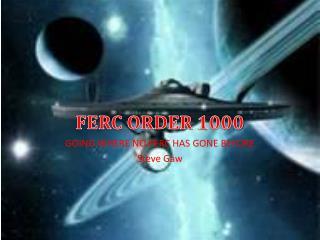 FERC ORDER 1000
