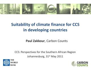 Suitability of climate  finance for CCS in developing countries