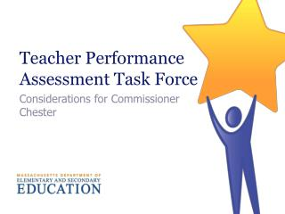 Teacher Performance Assessment Task Force