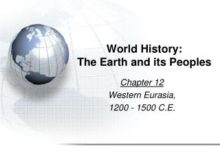 World History: The Earth and its Peoples