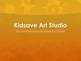 Kidsave  Art Studio