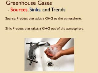 Greenhouse Gases  -  Sources ,  Sinks,  and Trends