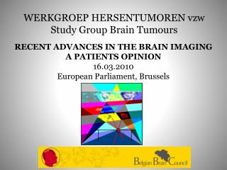 WERKGROEP HERSENTUMOREN vzw Study Group Brain Tumours