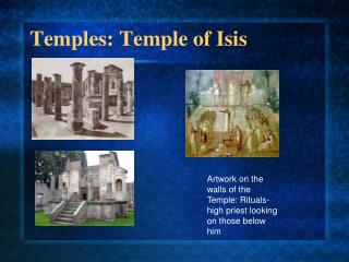 Temples: Temple of Isis