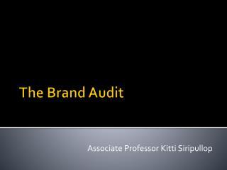 The Brand Audit