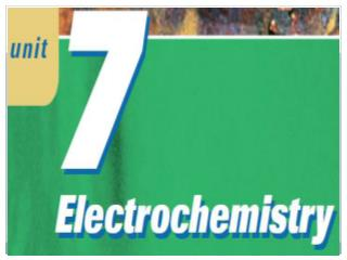 What is Electrochemistry?