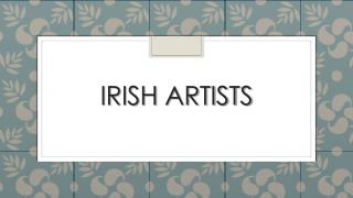 Irish Artists
