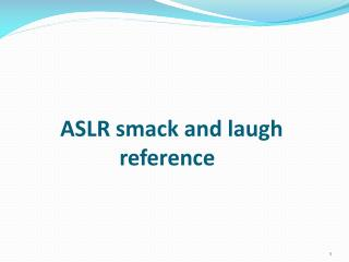 ASLR smack and laugh           	reference