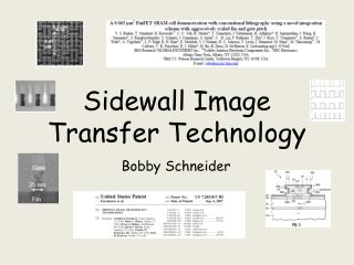 Sidewall Image Transfer Technology