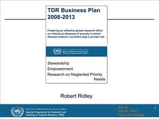 Robert Ridley