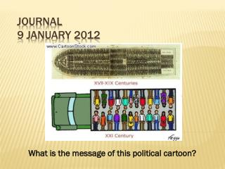 Journal  9 January 2012