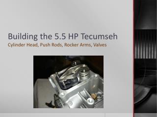 Building the 5.5 HP Tecumseh