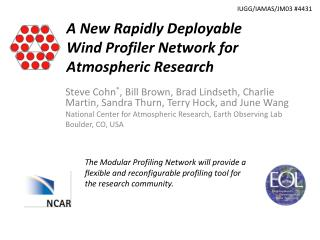 A New Rapidly Deployable Wind Profiler Network for Atmospheric Research