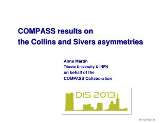 COMPASS results on  the Collins and  Sivers asymmetries