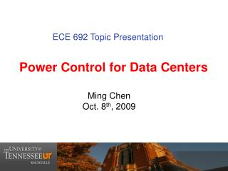 Power Control for Data Centers