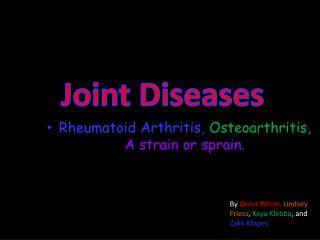 Joint Diseases
