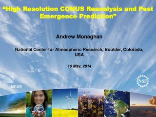 """High Resolution CONUS Reanalysis and Pest Emergence Prediction"""
