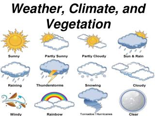 Weather, Climate, and Vegetation