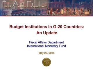 Budget Institutions in G-20 Countries: An Update