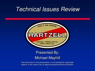 Technical Issues Review