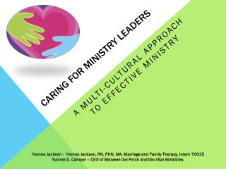 Caring for ministry leaders