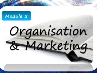 Organisation  & Marketing