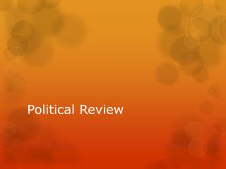 Political Review
