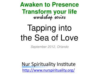 Tapping into the Sea of Love