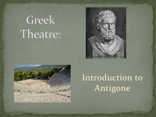 Greek  Theatre: