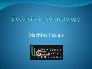 Electricity in Cosmetology