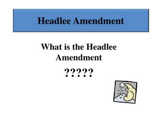 Headlee Amendment