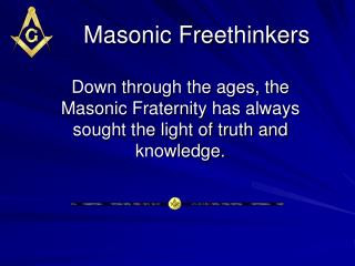 Masonic Freethinkers