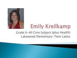 Emily Kreilkamp