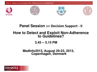 Panel Session  on  Decision Support - II