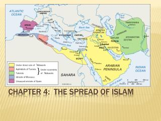 Chapter 4:  the Spread of Islam