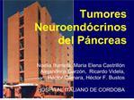 Tumores Neuroend