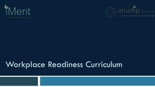 Workplace Readiness Curriculum