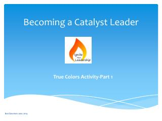 Becoming a Catalyst Leader