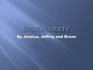 Stoichiomerty
